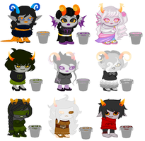 Breedable Trolls by roxy292