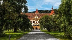 Graz - The Castle  Eggenberg by pingallery