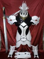 Armor Hakumen - BlazBlue by HairoKabrera