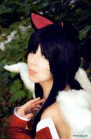 COSPLAY - League of Legends - Ahri by K-I-M-I