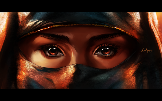 Eyes to be seen by BoFeng