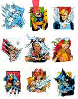 X-Men sketch cards 2 by Sonion