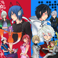 SMT: Devil Survivor 1-2 by code-name-327