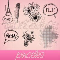 pinceles by tutorialslucy