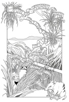 Pandanus Second page by melanippos
