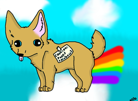 I poop rainbows by Hollygoesmeow