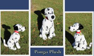 Pongo plush by Laurel-Lion
