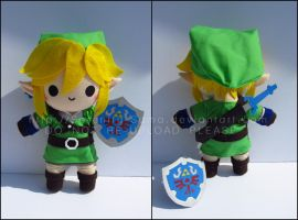 Chibi Link - Legend of Zelda by Serenity-Sama