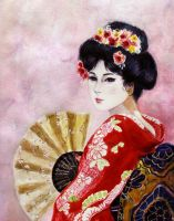 Geisha by milbisous