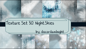 Texture Set 30_Night_Skies by discordandnight