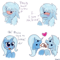 Trixie loves Trixie by CookieSkoon