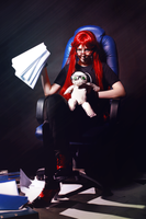 Lazy Grell by famous-and-fabulous