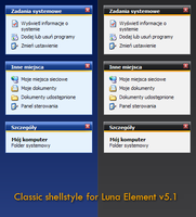 Classic shellstyle for LE v5.1 by PeterMac