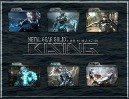 Metal Gear Solid Rising by lewamora4ok
