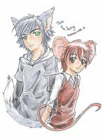 TandJ - Tom and Jerry, Human Ver. by Neete6Oni