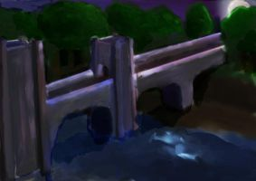 Bridge into the realm by Wolfguardian