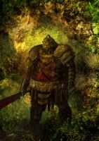 Orc Warrior by weaselpa