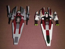 Lego Star Wars Official and Custom Sets by BrigadierDarman