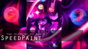 Speed Video Process `The Element of Magic` by Wilvarin-Liadon