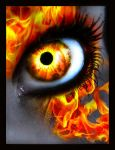 Fire Eye by MeganLeeRetouching