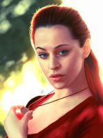 Jessica - Fiery Red by Unam-et-solum