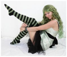 Green Fairy by Lisajen-stock