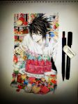#4 L(death note) by MadMadMee