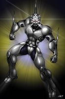 Bio-Booster Armour Guyver by CerberusLives