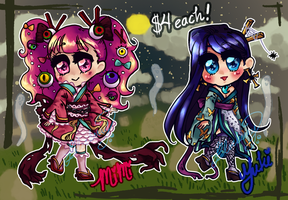 OPEN! Youkai Chibi Adoptables! by Sweet-Sisters