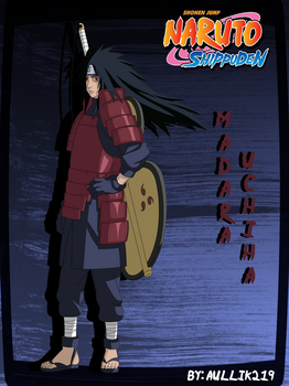 Madara Uchiha by aullik219