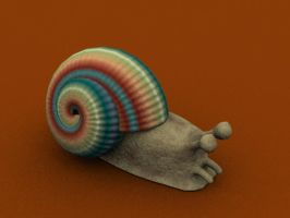 HEY LOOK A SNAIL by cheenot