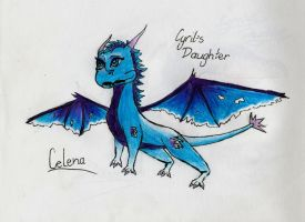 Early Cyril's daughter: Celena by Purpledragongirl