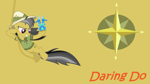 MLP: Daring Do Background by SweetCandace