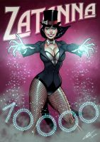 Zatanna-color by BrunoCotic