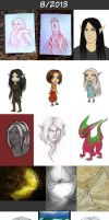 Daily doodles 2013-8 by Lysandr-a