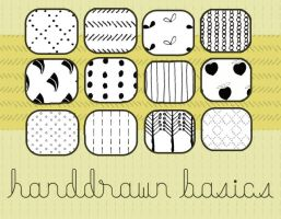 Handdrawn patterns by lauramae