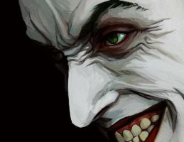 Joker Detail by DayDawnDusk