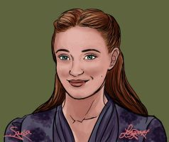 Game of Thrones - Sansa by bratchny