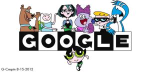CARTOON NETWORK 20th ANNIVERSARY Google version by G-Crepin