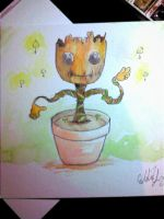 Baby Groot!! by Squall1015