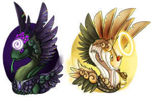 Coatl Busts by Cryophase