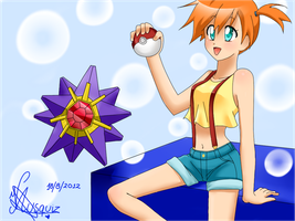 Misty Pokemon by Vika01