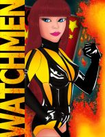 Watchman: Silk Spectre by hollywood714