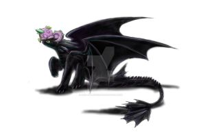 Spike and Toothless by Mad--Munchkin
