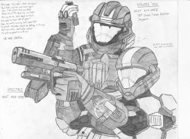 ODST OC - Spectre and Koloss by Ascended-Spartan