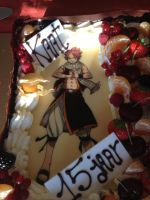 my birthday cake :D by LucyDragneel5882