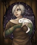 Kavi and the Bunny by kupi