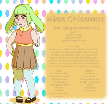 Miss Chievous by flowerpower138