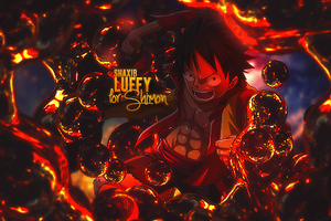 Luffy - for Shimon by Shaxib