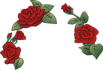 Roses by CharmyRaven